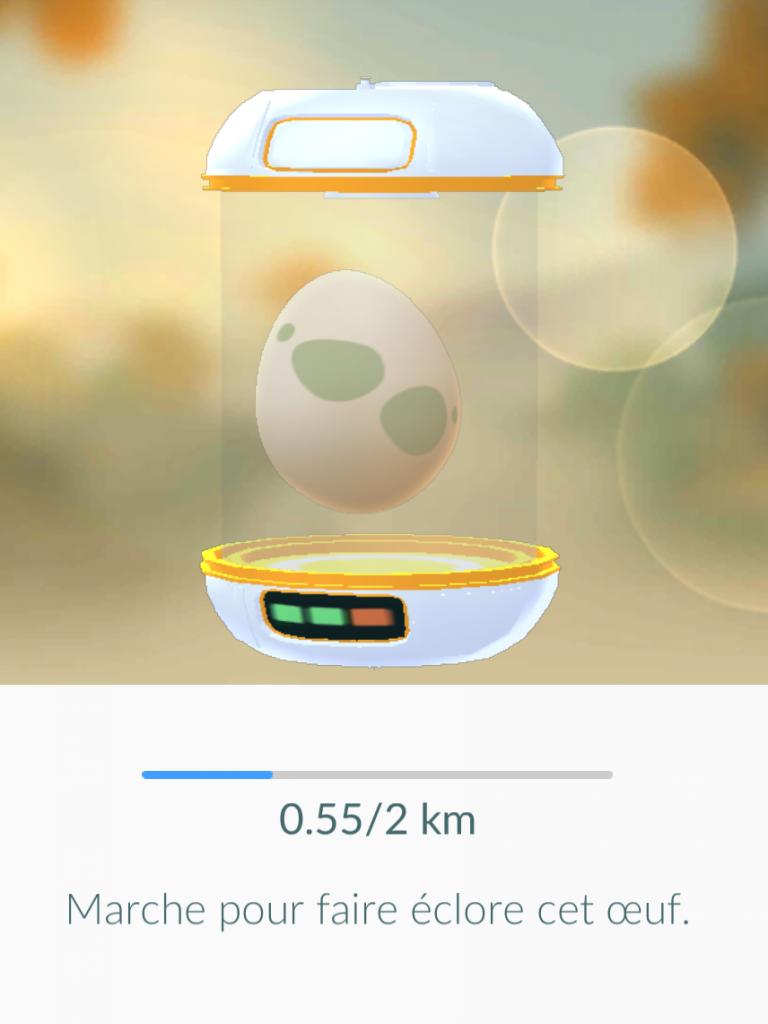 0,55 km ont déjà été parcouru