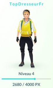 Expérience sur Pokemon GO !