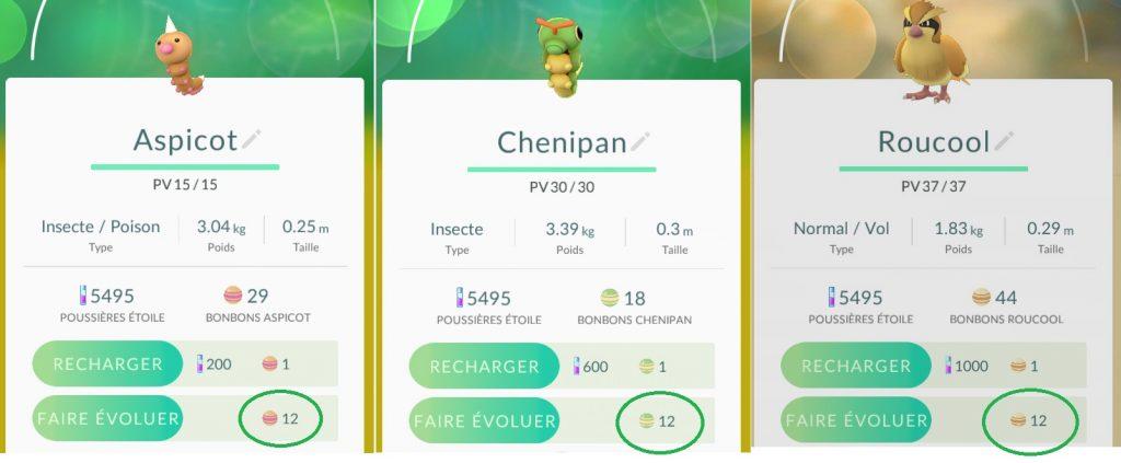 Aspicot Chenipan et Rouccol sont idéaux pour l'XP
