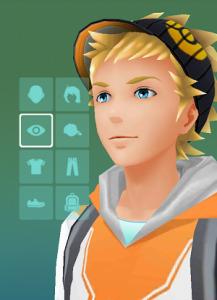 Capture d'écran de Pokémon GO