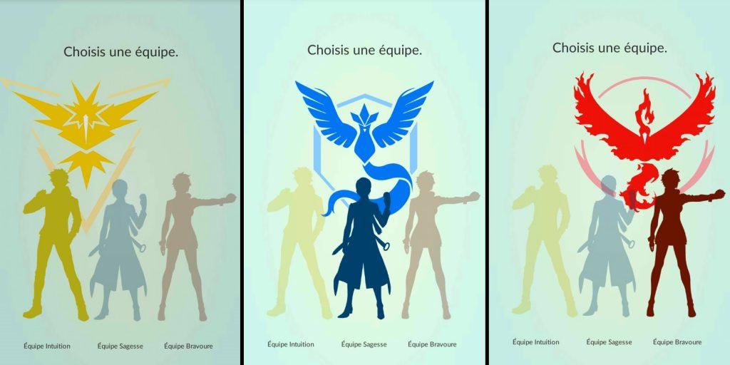 Choix de votre équipe de Pokémon