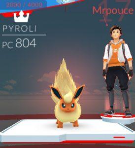 Mon premier combat de Pokémon