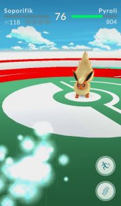 Mon premier Pokémon est battu !