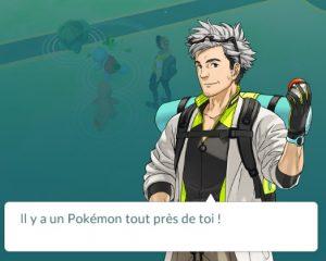 Le professeur Saule fait apparaître 3 pokémons