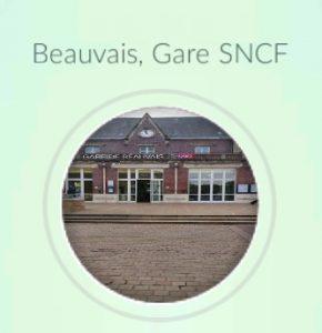Pokémon GO à la gare de Beauvais