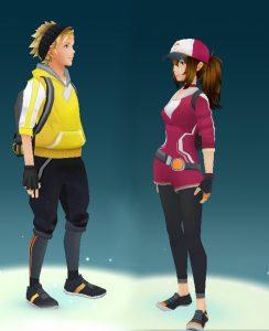 Echanger sur Pokémon Go